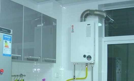 天然热水器安装步骤