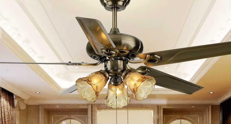 美观又实用 吊扇灯安装方法及注意事项