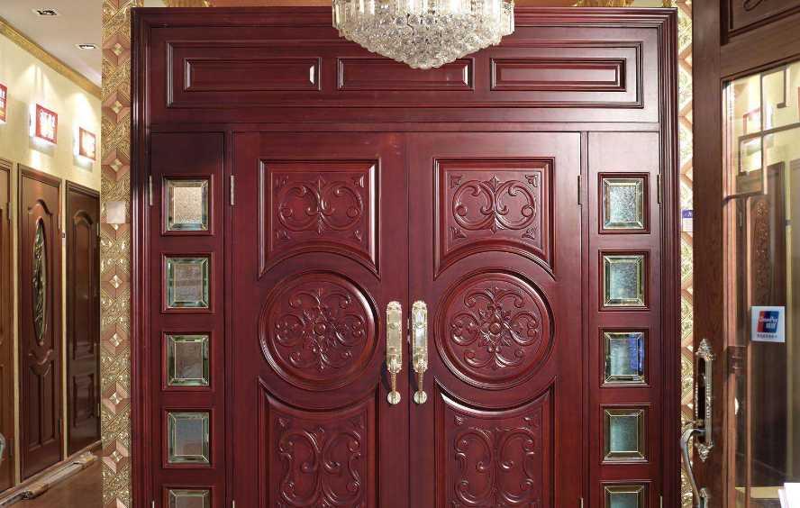 轻奢质感气派 实木门详细安装步骤