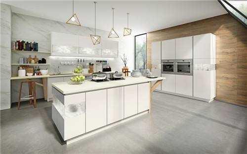 如何增加厨房与客厅的空间感