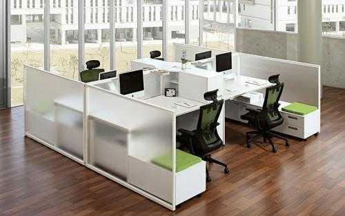 卡座办公桌的安装方法及卡座办公桌的材质