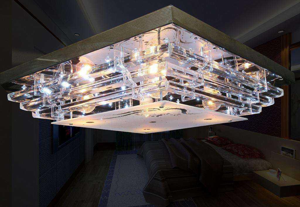 水晶灯安装位置选择和注意事项