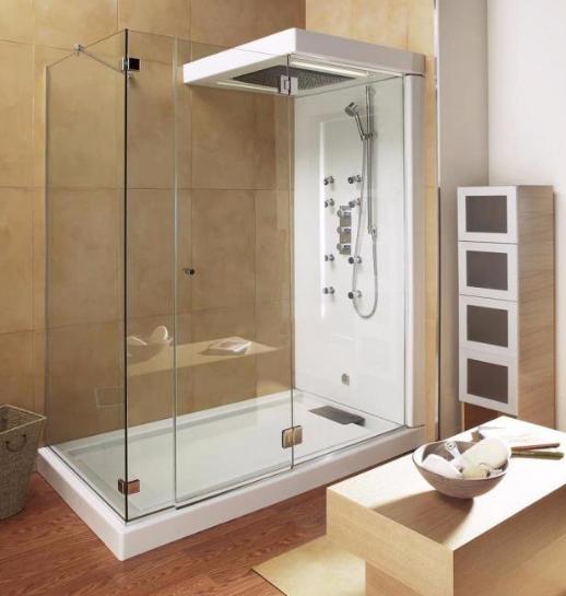 受欢迎的三联动淋浴房安装究竟好在哪里?