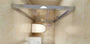 三联动淋浴房安装