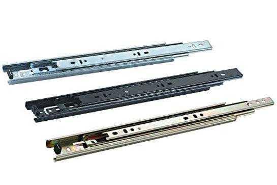 三折钢珠滑轨如何选购?三折钢珠滑轨安装方法