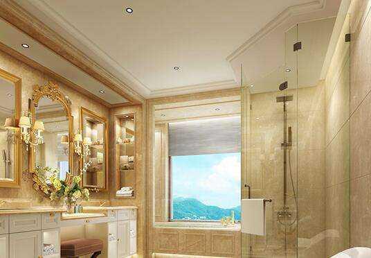浴室镜前灯安装高度以及浴室镜前灯选择