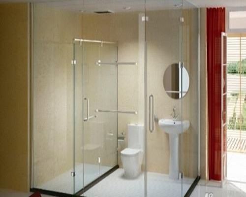 淋浴房滑轮安装方法