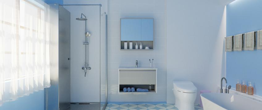 想要家里浴室安装的美观