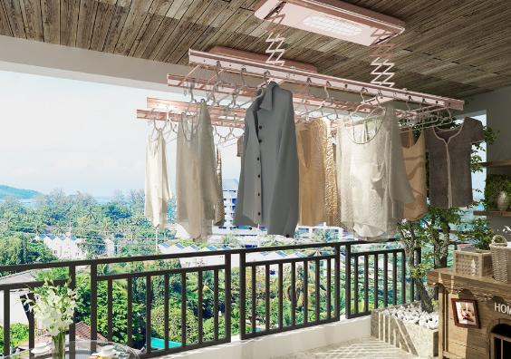 对比一般的晾衣架,安装智能晾衣架有哪些优点?