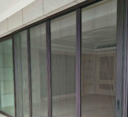 折叠纱窗门安装 门窗安装