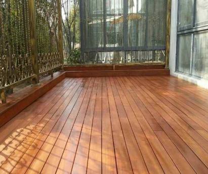 防腐地板安装 地板安装