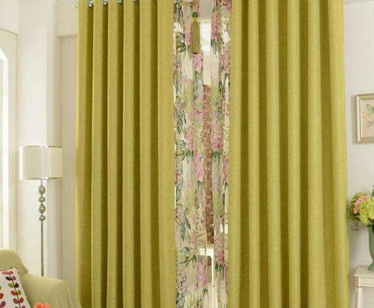 从色彩方面看家居窗帘如何搭配