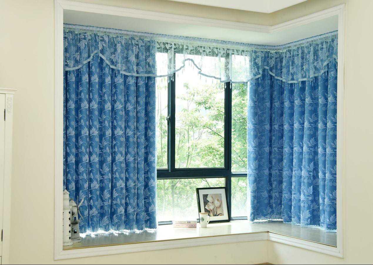 飘窗窗帘怎么安装才好看?这4个方法无疑是最受欢迎的。