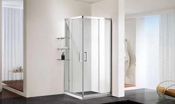 看正规安装公司的师傅是如何上门安装淋浴房的