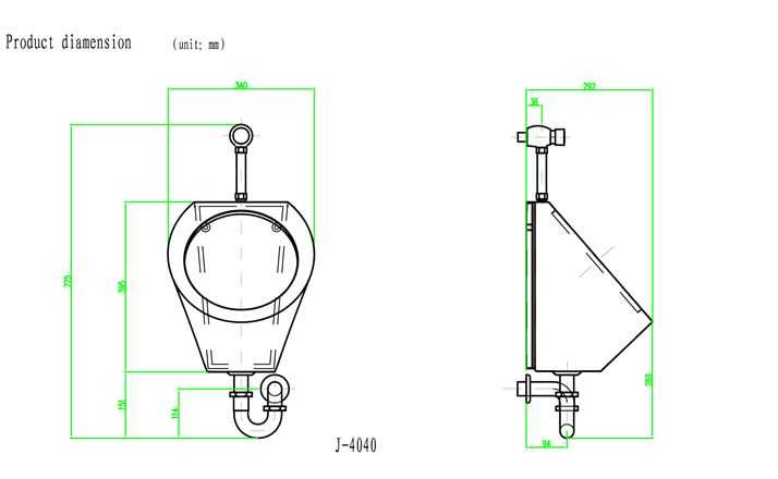 专业人士良心建议的小便器安装高度和安装步骤