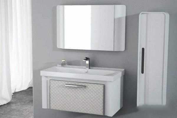 浴室柜安装,在装修中就能快速完成安装。