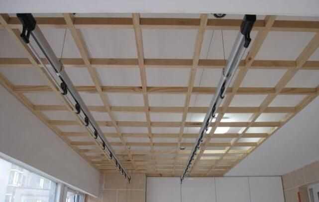 先装阳台吊顶后装晾衣架,安装注意事项!