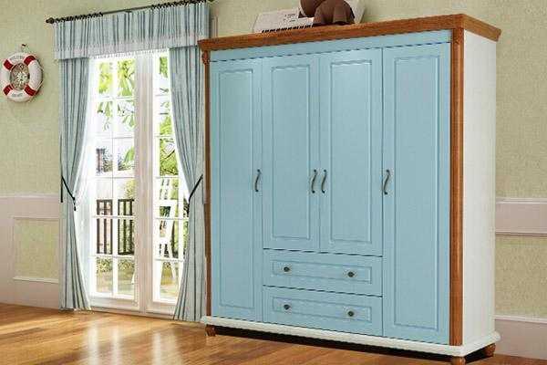 四门衣柜的安装方法,其实并不难