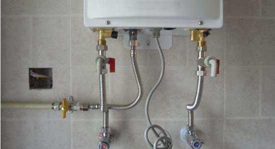 燃气热水器安装不能马虎的专用三角阀安装要领