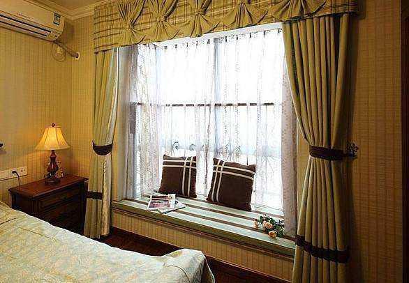 飘窗窗帘安装要遵循方法,不看就亏了。