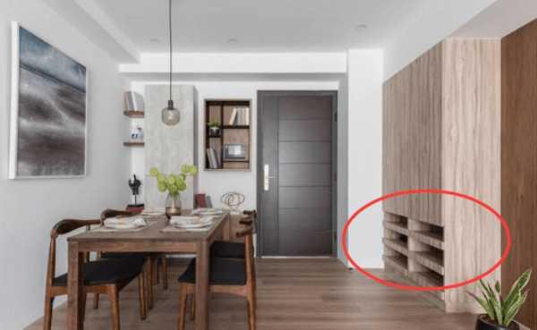 如何让安装的玄关柜更美观?这个装修设计值得学!