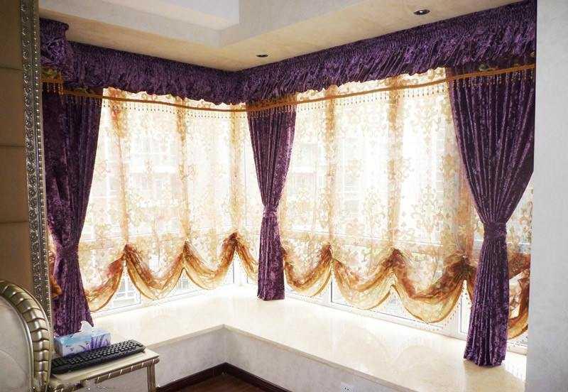 飘窗窗帘的设计与安装,提升整体装修的档次。