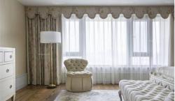 窗帘布艺装修的三大原则不可丢弃