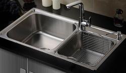 厨房水槽安装要这样操作才合理,后期使用更舒心