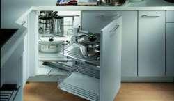 厨房转角拉篮的安装与使用,绝对是干货值得收藏