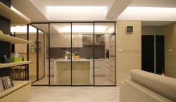 厨房隔断安装大家都选择哪种材料?
